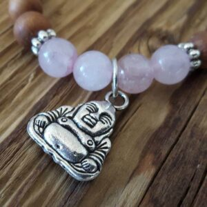 Bracelet zen, pendentif Bouddha - Omyoki