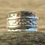 Bague 3 anneaux argent femme