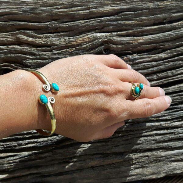 Turkoois armband armband