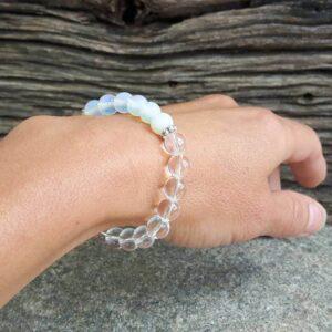 Bracelet pierre de lune Pureté