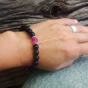 Bracelet en onyx FORCE