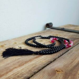 Collier en onyx noir FORCE