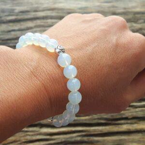 Bracelet perles de lune