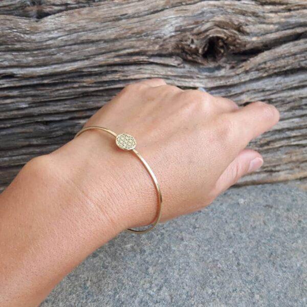 Levensbloem armband