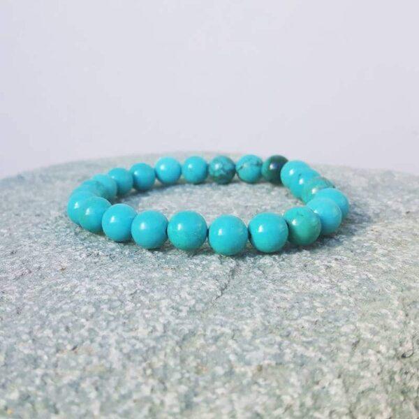 Bracelet mala turquoise SAGESSE