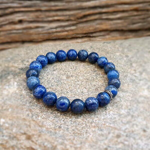 Pulsera de lapislázuli para hombre DEEP BLUE